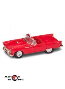 Ford Thunderbird decapotabil rosu 1955, 1:43 Lucky Diecast