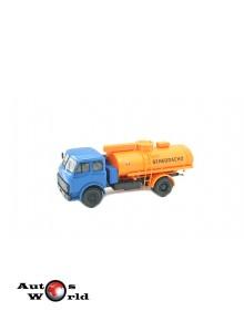 Macheta Camion MAZ 5334 AC-8 albastru/portocaliu, 1:43 Special Co