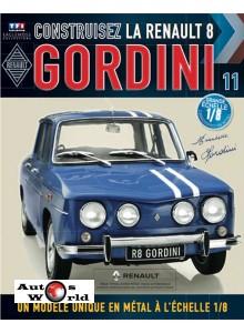 Macheta auto Renault 8 Gordini KIT Nr.11, scara 1:8 Eaglemoss