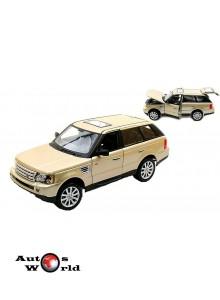 Macheta auto Land Rover Range Rover gold, 1:18 Bburago