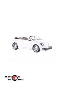 Macheta auto Volkswagen Beetle cabrio alb 2014, 1:43 Schuco