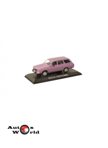 Macheta auto Dacia 1300 Break violet, 1:43 Ixo/IST