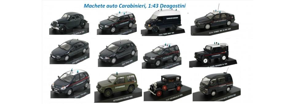 Machete auto carabinieri 1:43 Deagostini