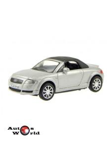 Macheta auto Audi TT soft top gri, 1:72 Cararama