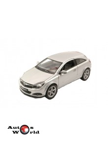 Macheta auto Opel Astra GTC gri 2005, 1:24 Welly