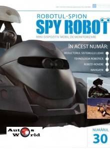 Colectia Spy Robot Nr 30 Kit de asamblat, Eaglemoss