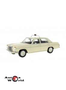 Macheta auto Mercedes 220 D/8 (W115) taxi crem 1973, 1:18 MCG