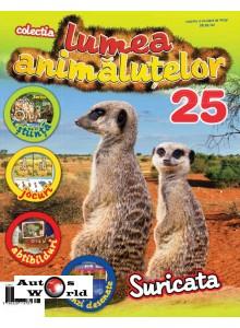 Lumea Animalutelor Nr.25 - Suricata, Amercom