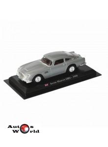 Masini De Legenda Nr.48 - Macheta auto Aston Martin DB4 1958 , 1:43 Amercom