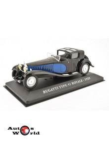 Macheta auto Bugatti Type 41 Royale 1929 1:43 Ixo
