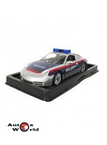 Masini de Politie nr18 - Macheta auto Porsche 911 Austria, 1:43 Amercom