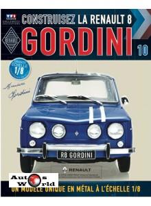 Macheta auto Renault 8 Gordini KIT Nr.10, scara 1:8 Eaglemoss