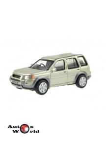 Macheta auto Land Rover Freelander gri, 1:72 Cararama