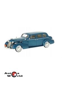 Macheta auto Cadillac series 75 Fleetwood V8 Sedan albastru 1939, 1:43 Whitebox