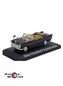 Macheta auto Simca Chambord V-8 AB-P *President Kennedy* 1961, 1:43 Norev