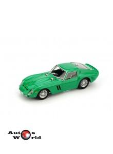 Macheta auto Ferrari 250 GTO 1962 verde, 1:43 Brumm