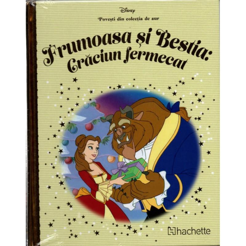Carte Povesti din colectia de aur Disney Nr.95 – Frumoasa si Bestia: Craciun Fermecat, Hachette