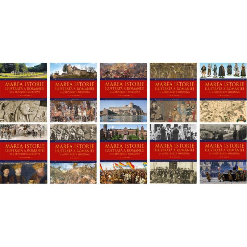 Carte Marea istorie ilustrata a Romaniei si a Republicii Moldova vol.2, Litera
