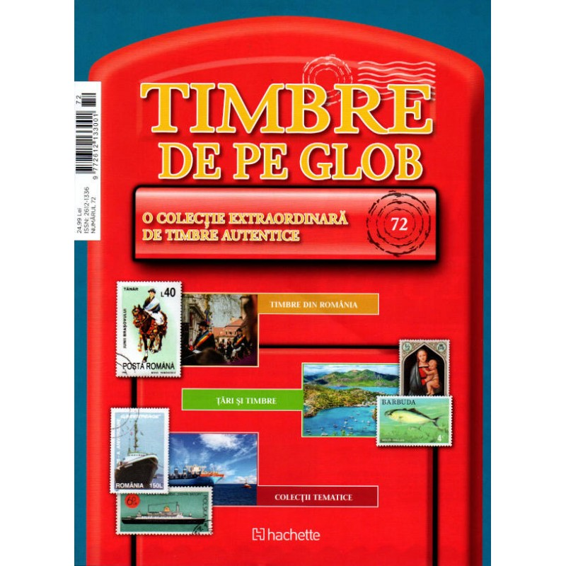 Timbre de pe Glob Nr.72, Hachette