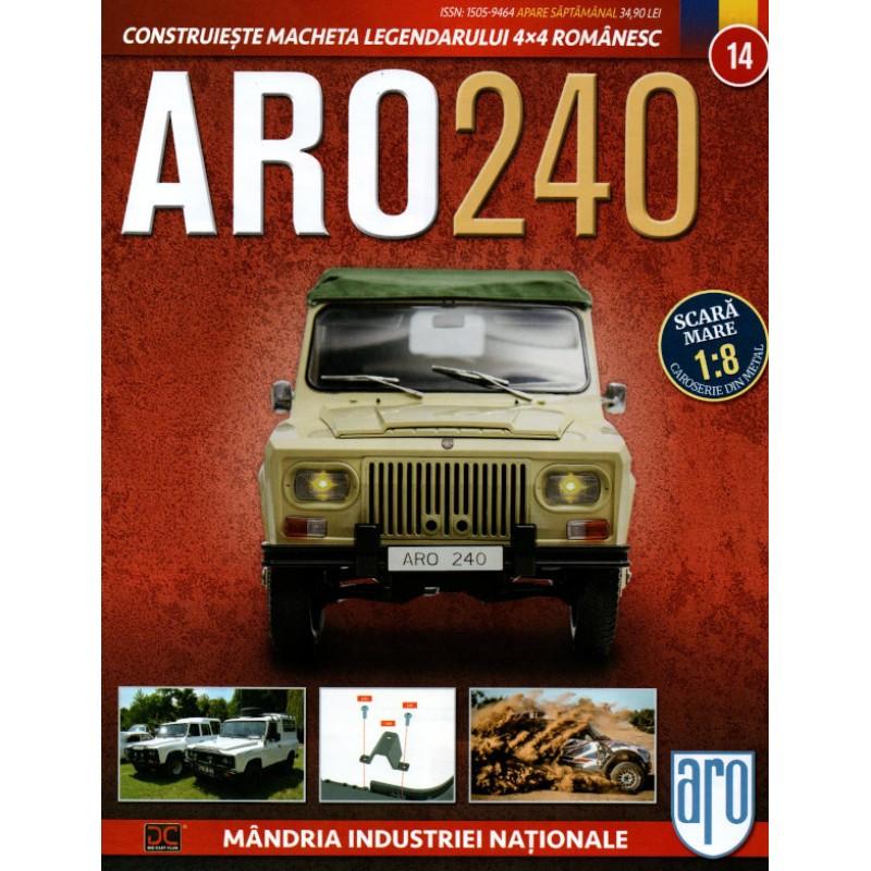 Macheta auto ARO 240 KIT Nr.14 - elemente suspensie, scara 1:8 Eaglemoss