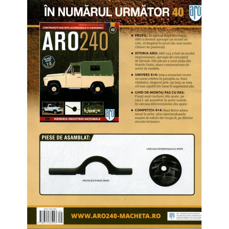 Macheta auto ARO 240 KIT Nr.39 – ax transmisie, scara 1:8 Eaglemoss