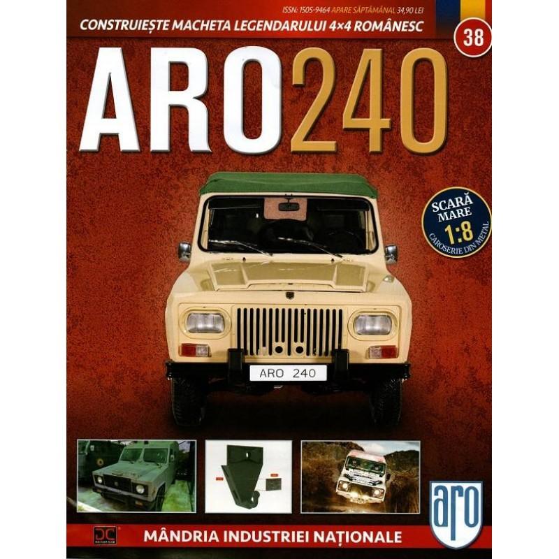 Macheta auto ARO 240 KIT Nr.38 – carlig remorcare, scara 1:8 Eaglemoss
