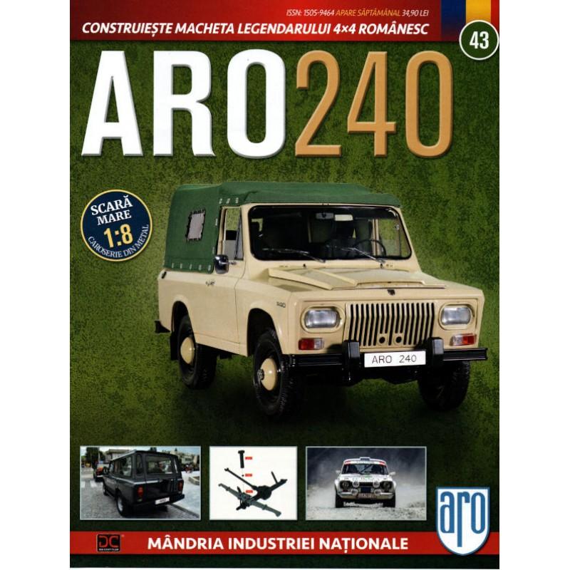 Macheta auto ARO 240 KIT Nr.43 – arc suspensie, scara 1:8 Eaglemoss