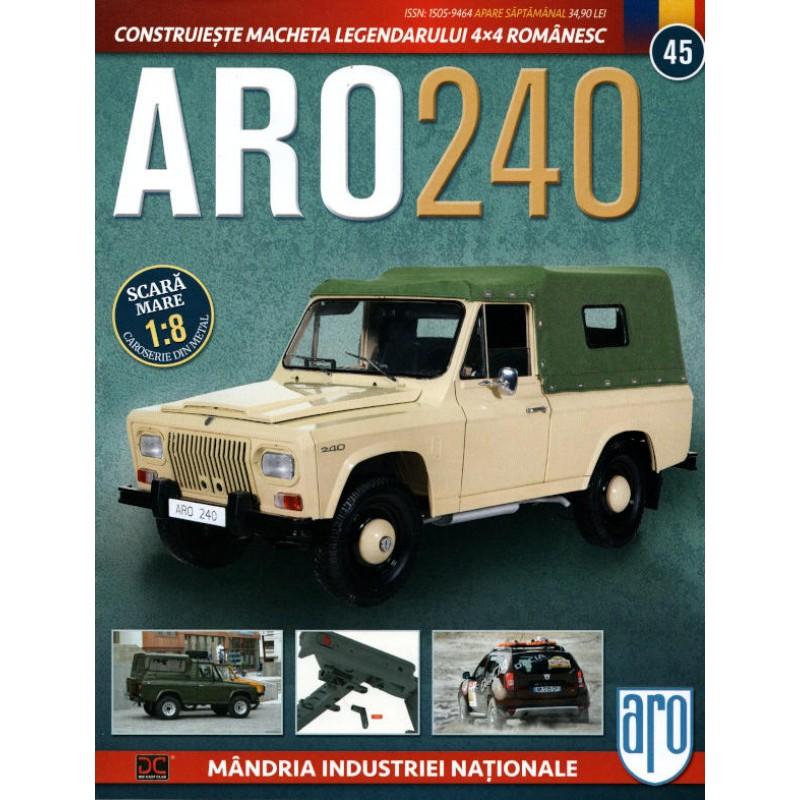 Macheta auto ARO 240 KIT Nr.45 – elemente suspensie, scara 1:8 Eaglemoss