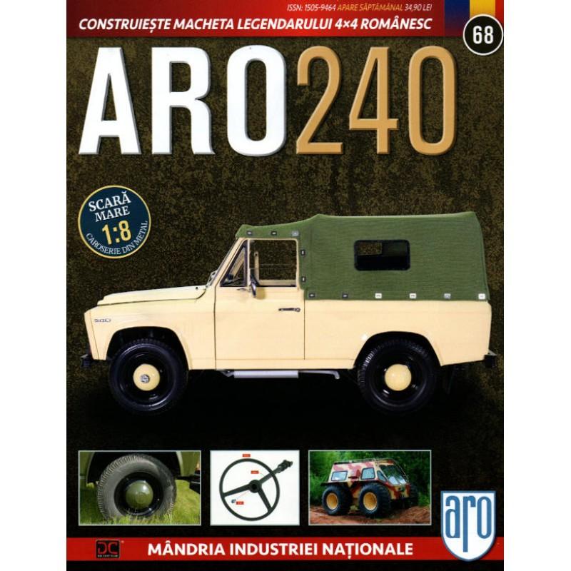 Macheta auto ARO 240 KIT Nr.68 – volan, scara 1:8 Eaglemoss
