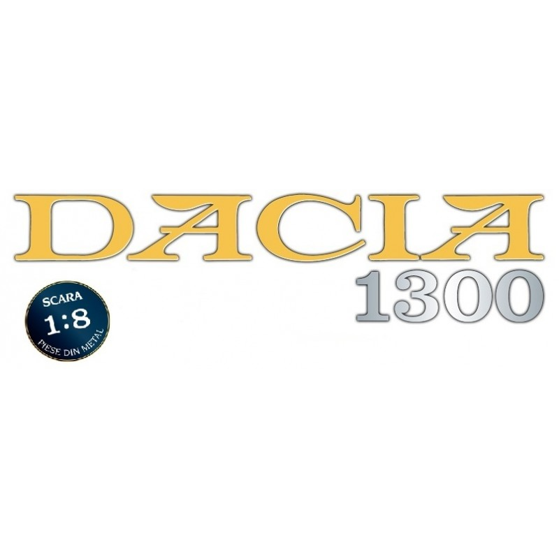 Colectie Macheta Dacia 1300 KIT, scara 1:8 Eaglemoss