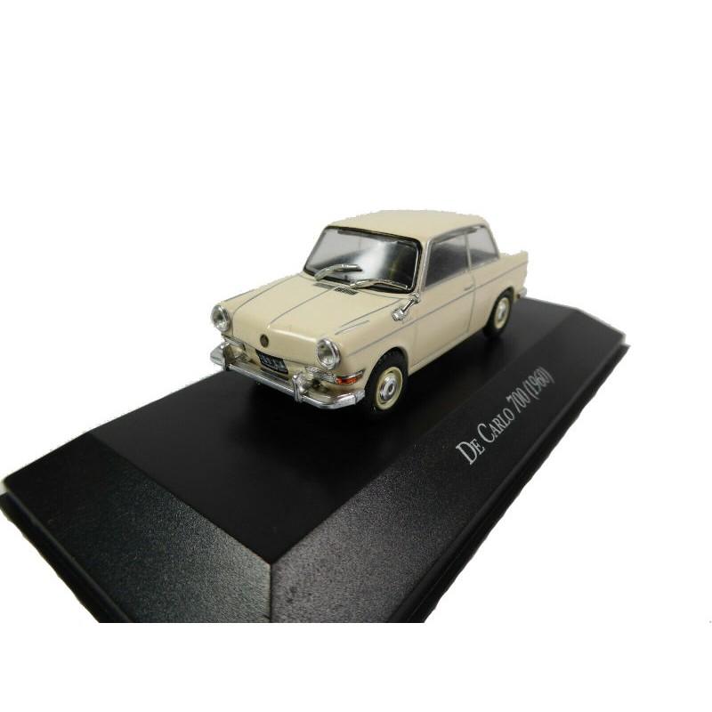 DEFECTA: Macheta auto BMW de Carlo 700 Monte Carlo 1960, 1:43 Ixo Argentina