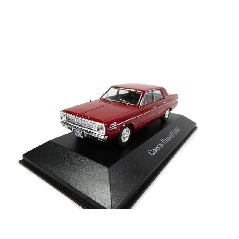 DEFECTA: Macheta auto Chrysler Valiant IV 1967, 1:43 Ixo Argentina