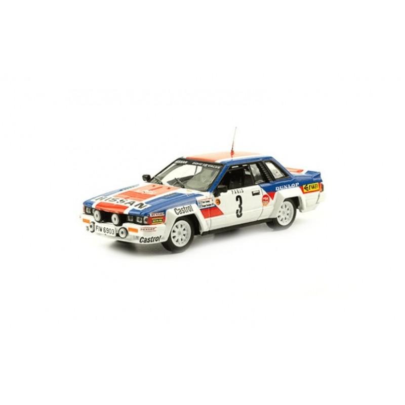 Macheta auto Nissan 240 RS 1984 #74, 1:43 Eaglemoss - Colectia Raliul Monte Carlo