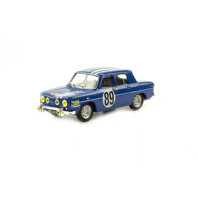 Macheta auto Renault 8 Gordini 1969 #75, 1:43 Eaglemoss - Colectia Raliul Monte Carlo