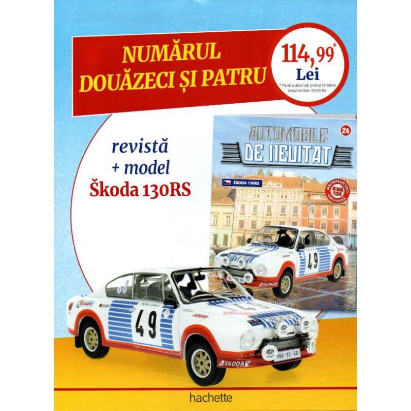 Macheta auto Aro M461 IMS 1955 Nr 23 - Automobile de neuitat, 1:24 Hachette
