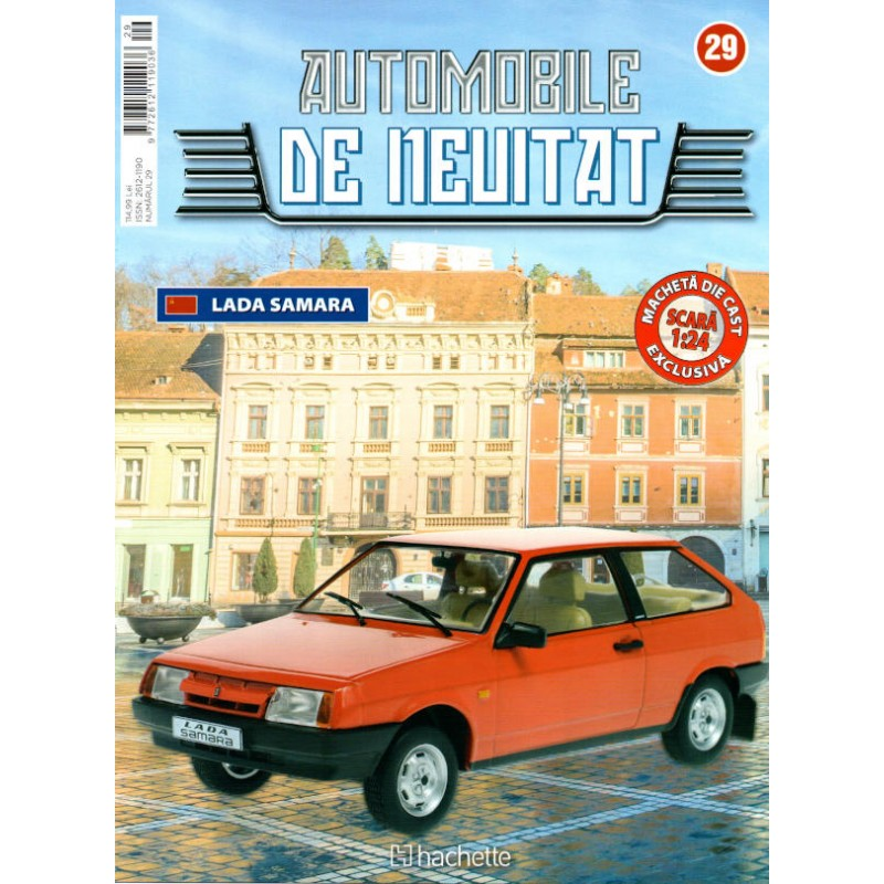 Macheta auto Lada Samara 1984 Nr 29 - Automobile de neuitat, 1:24 Hachette