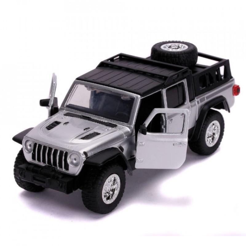 Macheta auto Jeep Gladiator 2020 Shaw Nr 49 – Fast & Furious, 1:32 Jada Libertatea