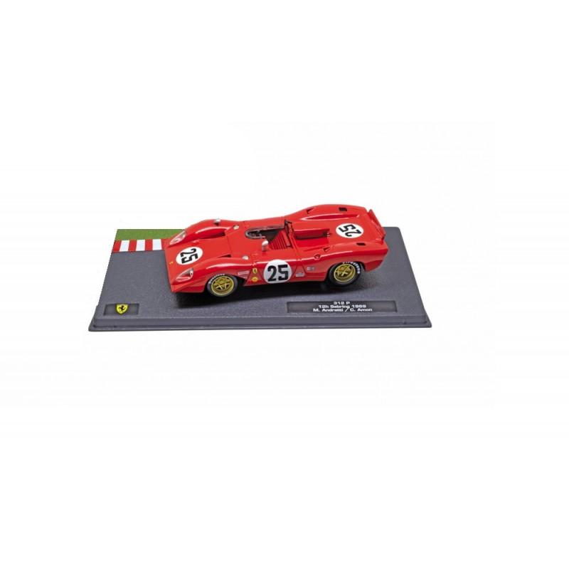 Macheta auto Ferrari 312P 1969 Nr 13, 1:43 Ferrari Racing Collection GSP