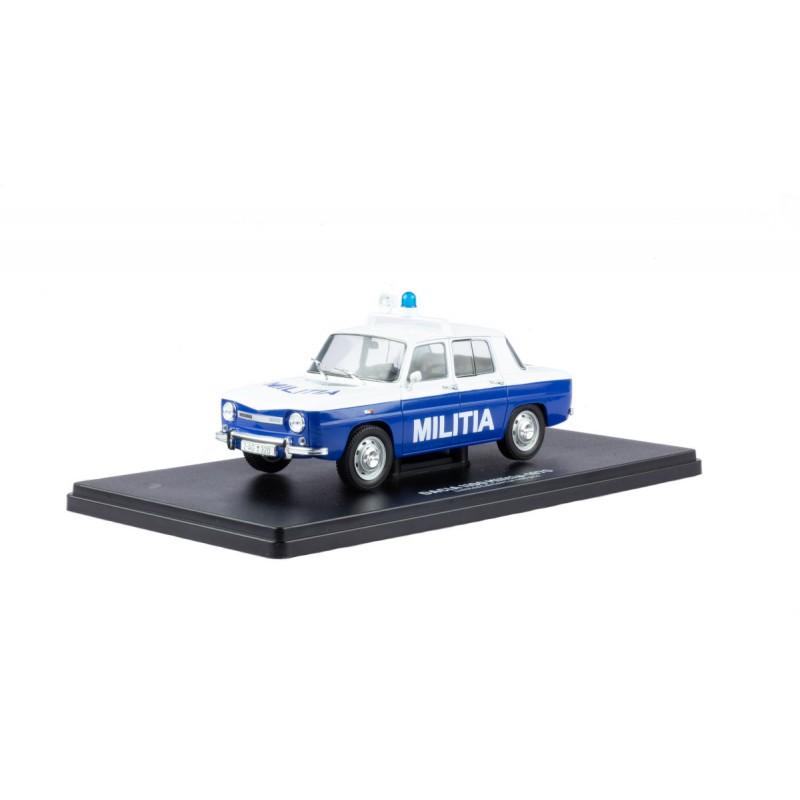 PRECOMANDA: Macheta auto Dacia 1100 Militia1970 Editie Limitata 499 pcs, 1:24 Autosworld