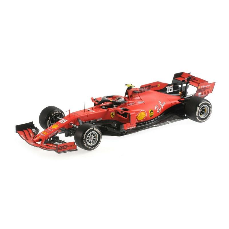 Macheta auto Ferrari F1 SF90 #16 Winner 2019 Italian GP Charles Leclerc, 1:18 BBR