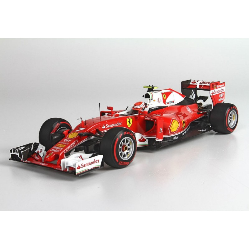 Macheta auto Ferrari F1 SF16H N7 China GP 2016 Kimi Raikkonen, 1:18 BBR