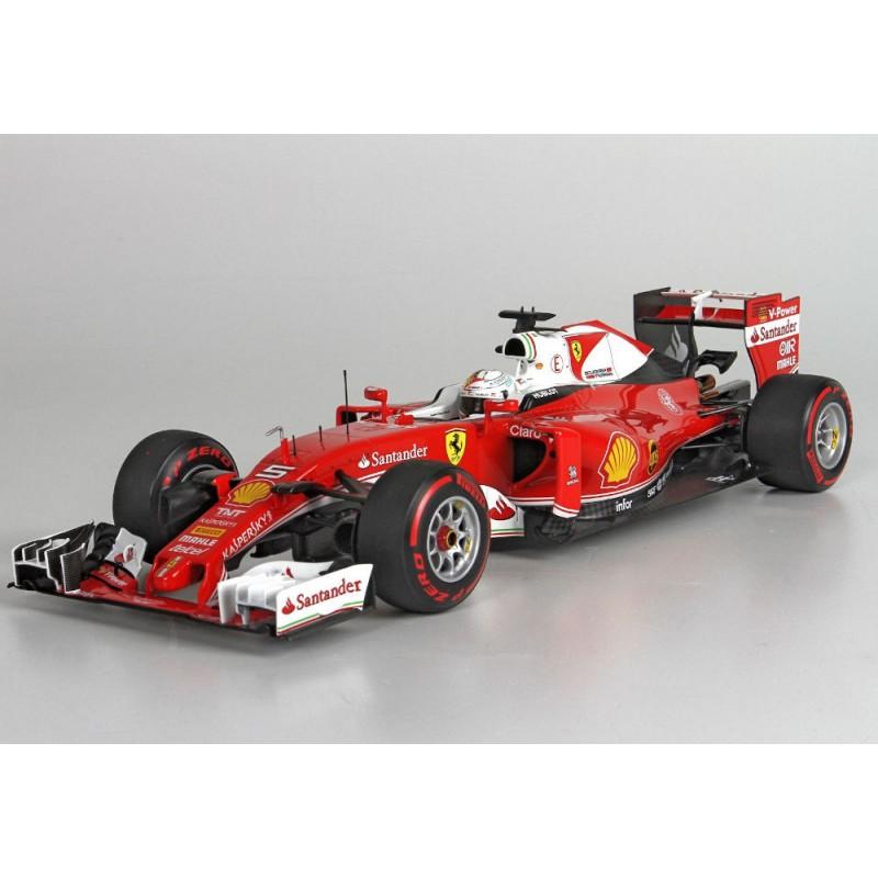 Macheta auto Ferrari F1 SF16H N5 China GP 2016 Sebastien Vettel, 1:18 BBR
