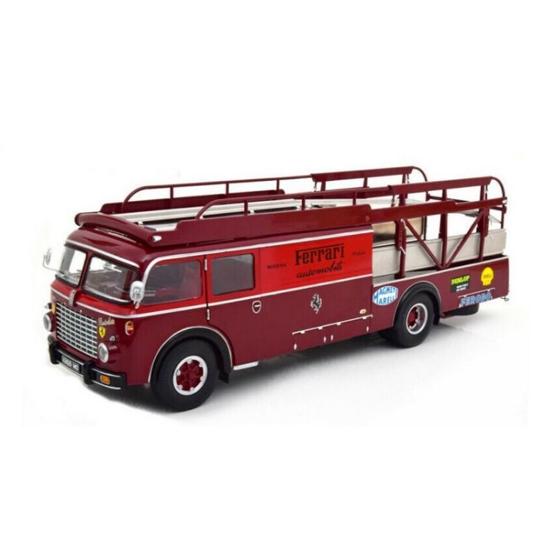 DEFECTA: Macheta camion Fiat 642 RN2 Bartoletti Ferrari Renntransporter 1957, 1:18 CMR