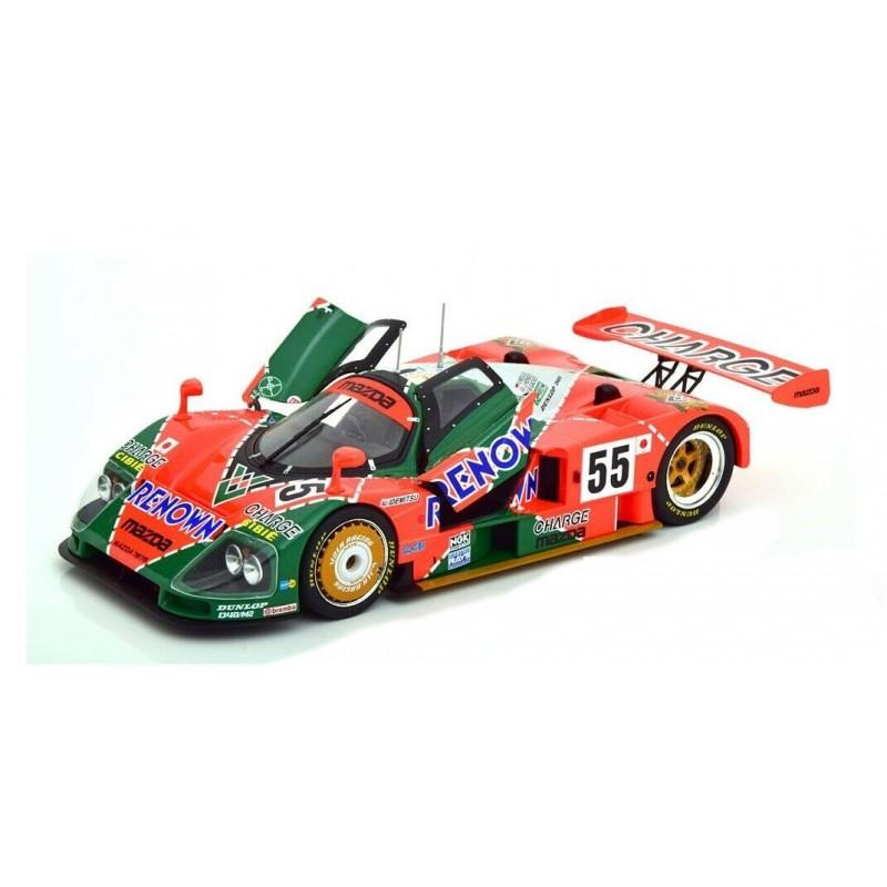Macheta auto Mazda 787 B Sieger 24h Le Mans #55 Weidler/Herbert/Gachot 1991, 1:18 CMR