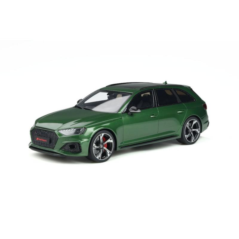 Macheta auto Audi RS4 verde 2020, 1:18 GT Spirit