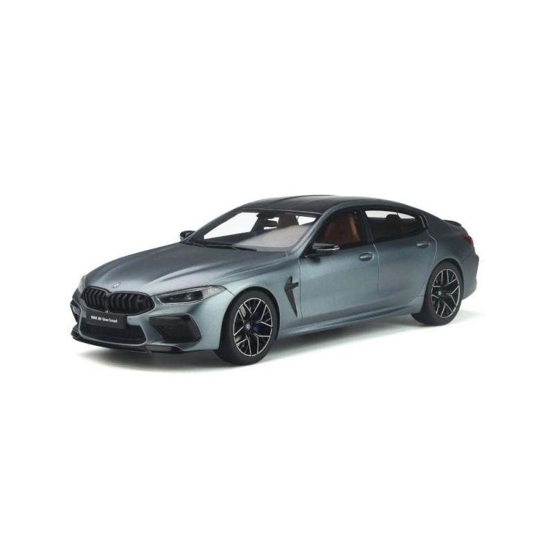 Macheta auto BMW M8 Gran Coupe gri 2020, 1:18 GT Spirit