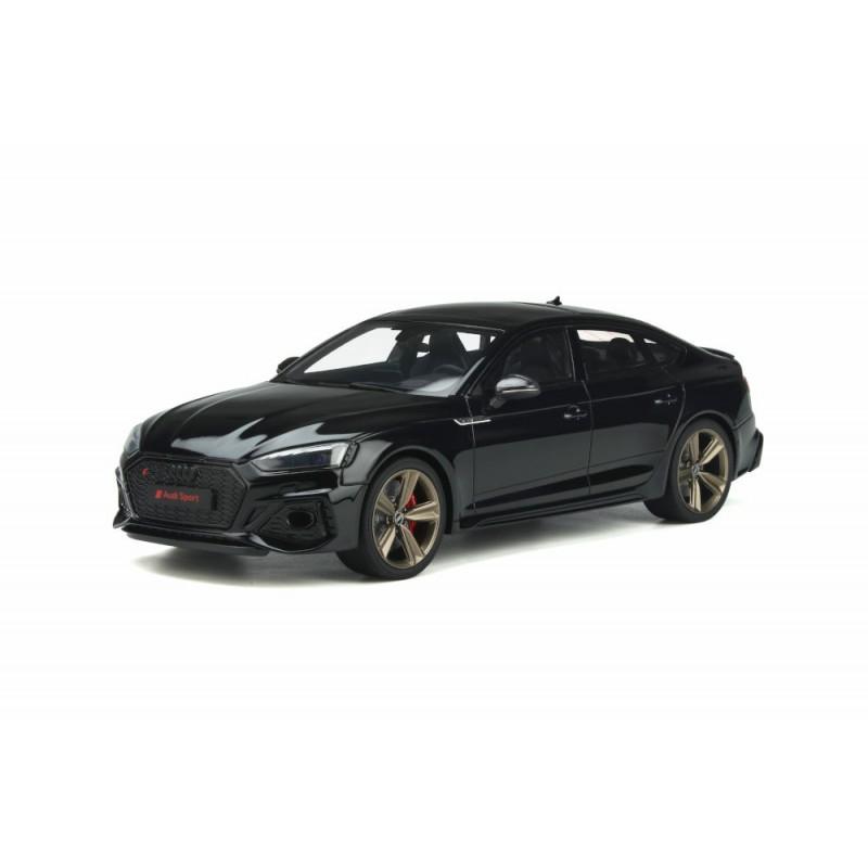 Macheta auto AUDI RS5 (B9) Sportback negru 2020, 1:18 GT Spirit