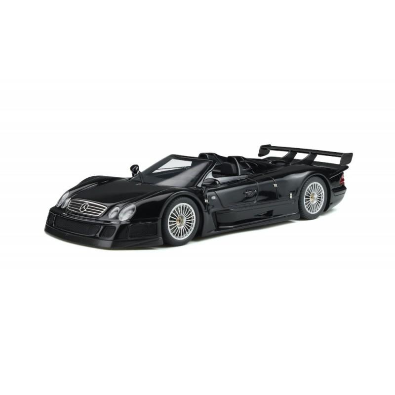 Macheta auto Mercedes-Benz CLK GTR Roadster negru 1998, 1:18 GT Spirit