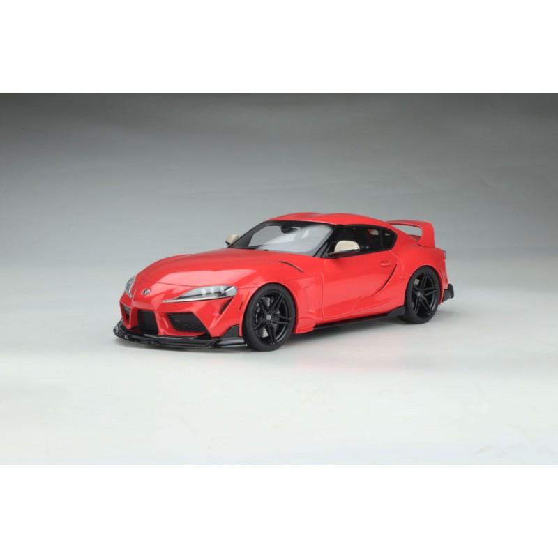 PRECOMANDA: Macheta auto Toyota Supra GR 2020 rosu, 1:18 GT Spirit