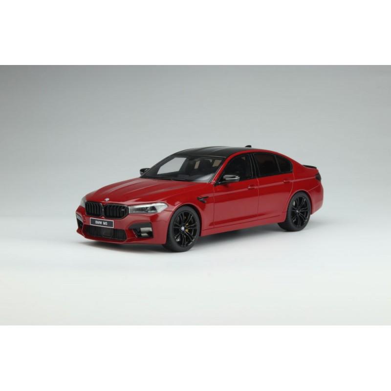 PRECOMANDA: Macheta auto BMW M5 (F90) Competition 2020 visiniu, 1:18 GT Spirit